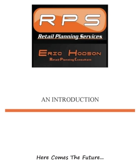 RPS Introductory Brochure Cover